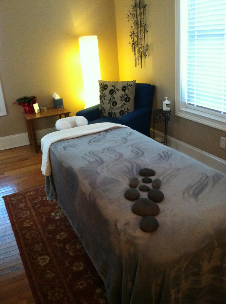 Massage Room, 227-A N. Spring St. Greensboro, NC